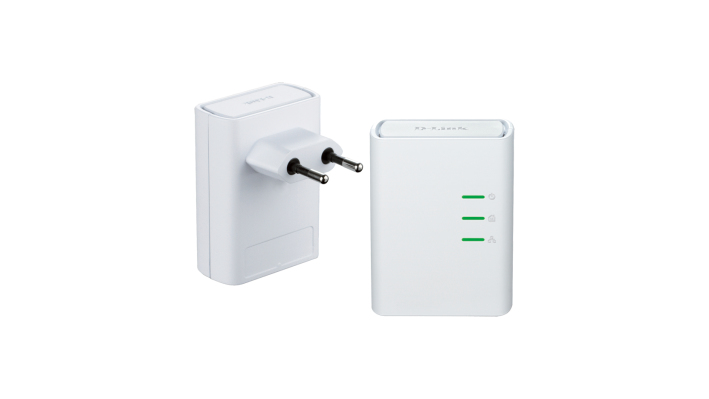 D-Link DHP-509AV 500 Mbit/s Ethernet LAN White 2 pc(s)