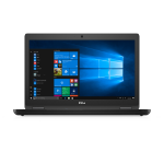 "DELL Latitude 5580 Black Notebook 39.6 cm (15.6"") 1920 x 1080 pixels 6th gen Intel® Core™ i5 8 GB DDR4-SDRAM 256 GB SSD Windows 10 Pro"