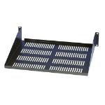 Tripp Lite 2U Rack Enclosure Server Cabinet Cantilever Fixed Shelf (60 lb / 27 kg capacity; 21 in. / 533.4 mm depth.)