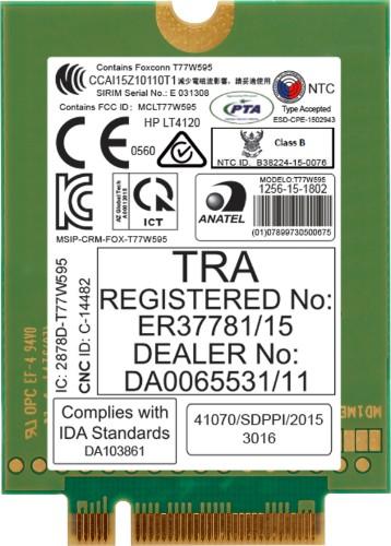 HP lt4120 LTE/EV-DO/HSPA+ WWAN cellular wireless network equipment