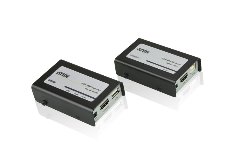 Aten VE803 AV transmitter & receiver Black,Grey AV extender