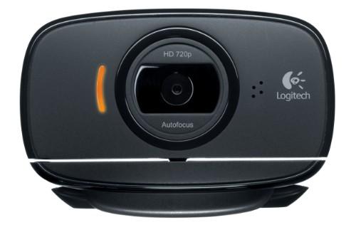 Logitech C525 webcam 8 MP 1280 x 720 pixels USB 2.0 Black