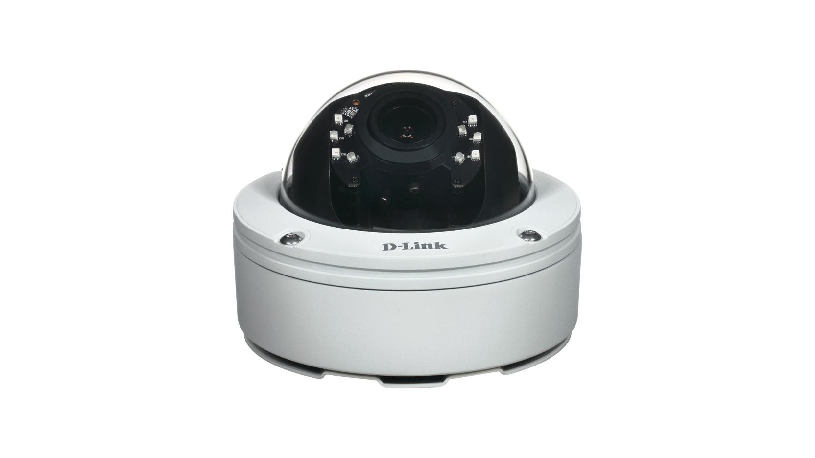 D-Link DCS-6517 IP Outdoor Dome White surveillance camera