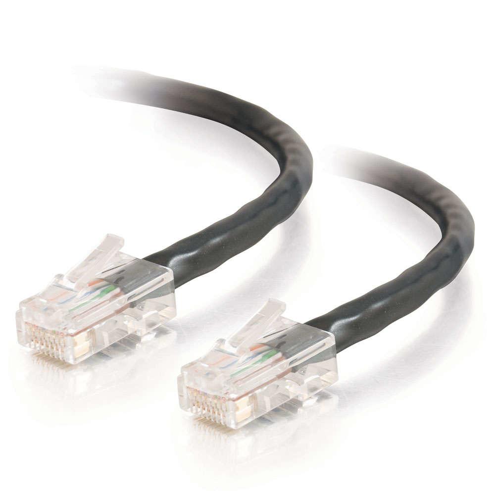 C2G Cat5E Assembled UTP Patch Cable Black 5m