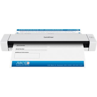 Brother DS-620 Sheet-fed scanner 600 x 600DPI A4 Black,White scanner