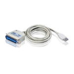 Aten UC1284B USB cable 1.8 m 1.1 USB A White