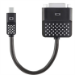 Belkin Mini Display Port to DVI Adapter  - Black