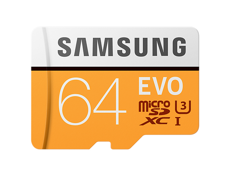 Samsung MB-MP64G flashgeheugen 64 GB MicroSDXC Klasse 10 UHS-I