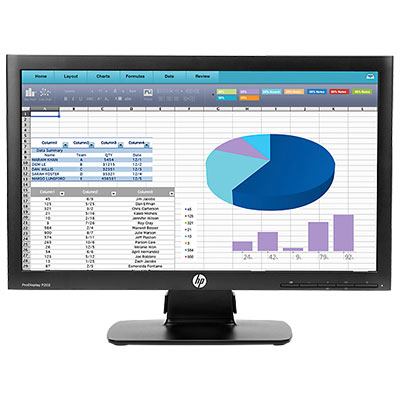 "HP ProDisplay P202 20"" Black"