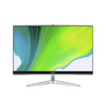 "Acer Aspire C22-1650 54.6 cm (21.5"") 1920 x 1080 pixels 11th gen Intel® Core™ i3 8 GB DDR4-SDRAM 1128 GB HDD+SSD Windows 10 Home All-in-One PC Silver"