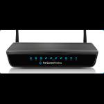 NETCOMM Wireless N300 4-Port ADSL2+ Modem/Router USB Host Port IPv6