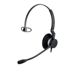 Jabra BIZ 2300 QD Mono Monaural Head-band Black headset 2303-820-104