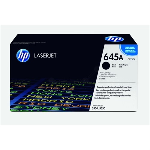 HP C9730A (645A) Toner black, 13K pages @ 5% coverage