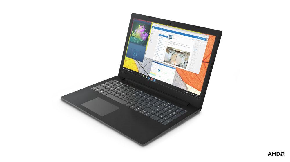 "Lenovo V145 Black Notebook 39.6 cm (15.6"") 1920 x 1080 pixels 7th Generation AMD A6-Series APUs 8 GB DDR4-SDRAM 256 GB SSD Wi-Fi 5 (802.11ac) Windows 10 Home"