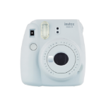 Fujifilm Instax Mini 9 Smoky White Instant Camera inc 10 Shots