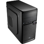 Aerocool QS-182 Mini-Tower Black