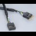 Akasa HD Audio 40cm Internal Extension Cable (EXAUDI-40)