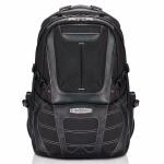 """Everki CONCEPT 2 notebook case 43.9 cm (17.3"""") Backpack Black, Orange"""