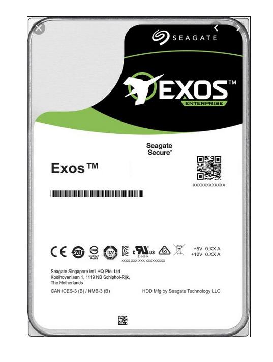 "Seagate Exos X16 3.5"" 16000 GB Serial ATA III"