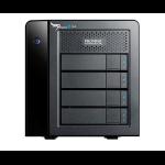 Promise Technology Pegasus2 R4 12000GB Desktop Black disk array