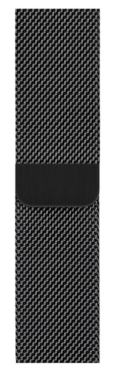 40mm Space Black Milanese Loop