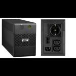 Eaton 5E 650IUSBDIN Line-Interactive 650VA Black uninterruptible power supply (UPS)