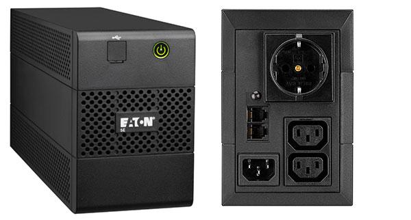 Eaton 5E 650IUSBDIN sistema de alimentación ininterrumpida (UPS) Línea interactiva 650 VA 360 W