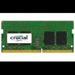 Crucial 2x4GB DDR4 memory module 8 GB 2400 MHz