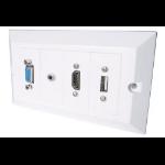 CONNEkT Gear 20-1050 socket-outlet White