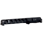 C2G 80801 6AC outlet(s) 1.5m Black surge protector