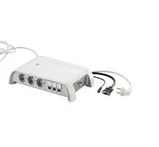 C2G 80869 Indoor 7AC outlet(s) 5m Grey, White power extension