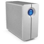 LaCie 2big Quadra USB 3.0 120000GB Desktop Silver disk array