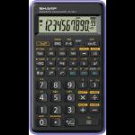 Sharp EL-501T calculator Pocket Scientific Black, Purple