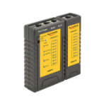 DeLOCK 86407 Black, Yellow network cable tester