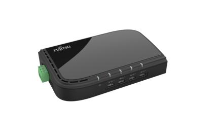 Fujitsu S26391-F6099-L404 interface hub USB 3.2 Gen 1 (3.1 Gen 1) Type-C Black