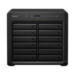 Synology DiskStation DS2419+ 72TB 12x6TB Seagate IronWolf Pro 12 Bay NAS Desktop Tower Ethernet LAN Black C3538