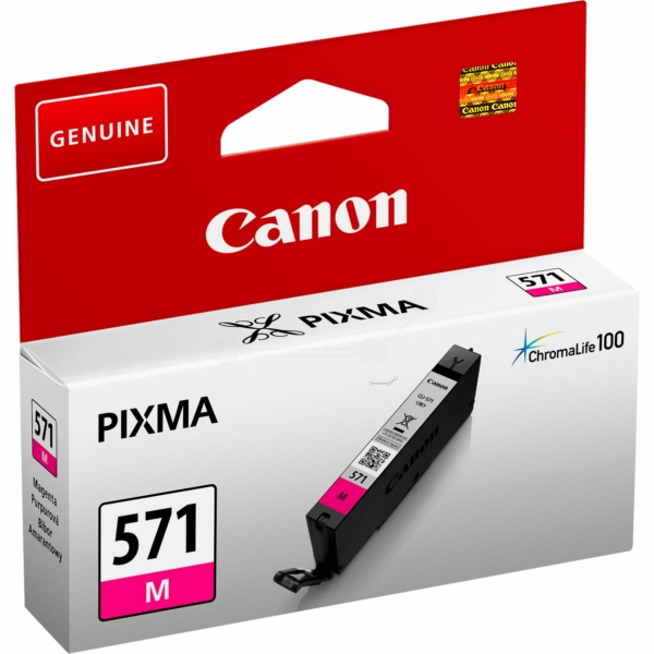 Canon 0387C001 (CLI-571 M) Ink cartridge magenta, 297 pages, 7ml