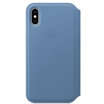 "Apple iPhone XS Leather Folio - Cornflower funda para teléfono móvil 14,7 cm (5.8"") Azul"