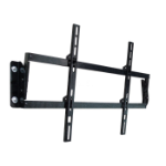"Sahara 1550657 46"" Black flat panel wall mount"