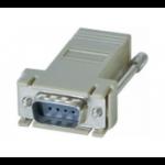Hypertec 250420-HY cable gender changer DB9 RJ-45 Grey