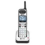 AT&T SB67108 DECT telephone Caller ID Black, Grey telephone handset