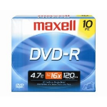 Maxell DVD-R 4.7GB DVD-R 10pcs