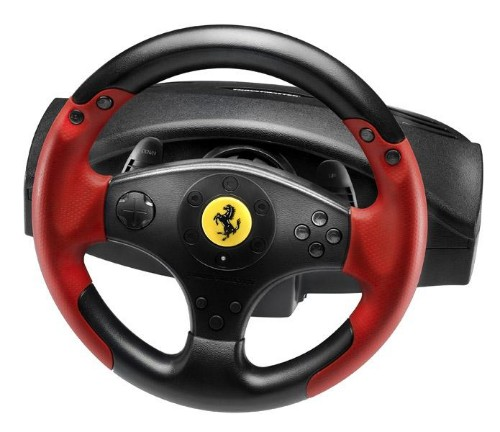 Thrustmaster Ferrari Racing Wheel Red Legend PS3&PC Steering wheel + Pedals PC,Playstation 3 Black,Red