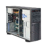 Supermicro SuperChassis SC743T-500B Rack Zwart 500 W
