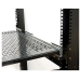 StarTech.com 2U Adjustable Mounting Depth Vented Sliding Rack Mount Shelf – 50lbs / 22.7kg UNISLDSHF19