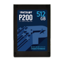 Patriot Memory 512GB P200 2.5'' SATA III internal solid state drive 2.5