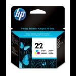 HP 22 Original Cyaan, Magenta, Geel 1 stuk(s)