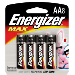 Energizer E91MP-8 household battery Single-use battery AA Alkaline