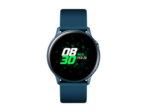 "Samsung Galaxy Watch Active smartwatch Green SAMOLED 2.79 cm (1.1"") GPS (satellite)"