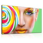 "DynaScan DS551LX4 Digital signage flat panel 54.64"" LCD Full HD Black signage display"